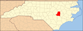 North Carolina Map Highlighting Wayne County.PNG