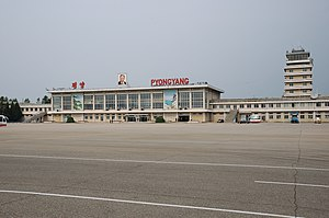 Sunan-guyok - Pyongyang Sunan International Airport