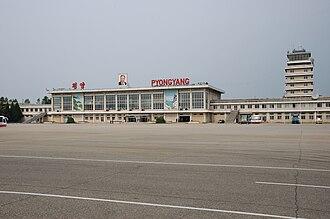 Sunan-guyok - Pyongyang Sunan International Airport