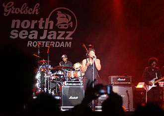 North Sea Jazz Festival - D'Angelo performs at the North Sea Jazz Festival in Rotterdam in 2012.