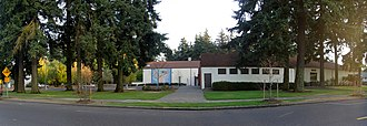 Mt. Scott-Arleta, Portland, Oregon - Image: North side of Mt Scott Community Center building, Portland, Oregon
