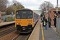 Northern Rail Class 150, 150144, Whiston railway station (geograph 3819378).jpg