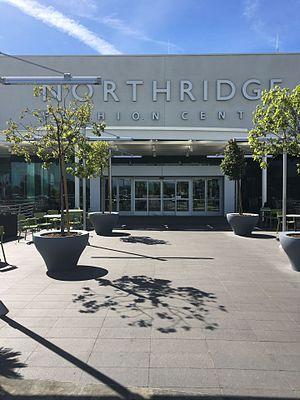 Northridge Fashion Center - Level 2 entrance