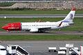 Norwegian (Christina Nilsson livery), LN-NID, Boeing 737-8JP (16454875661).jpg