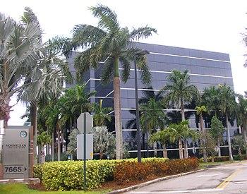 English: Norwegian Cruise Line headquarters in unincorporated Miami-Dade County.