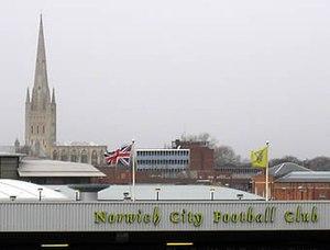 Norwich City F.C. - Carrow Road towards City