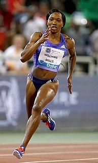 Novlene Williams-Mills Jamaican sprinter