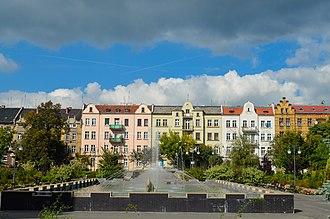 Lubusz Voivodeship - Nowa Sól is part of historic Lower Silesia