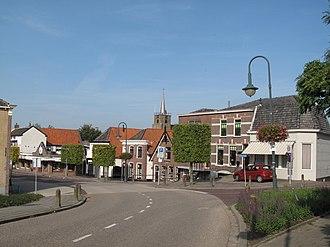 Numansdorp - Numansdorp, view to the village