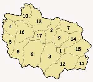 Image:Numbered map of Adjuntas wards