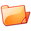 Nuvola filesystems folder orange open.png