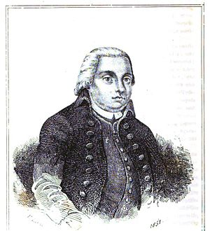 Domingos Caldas Barbosa - A gravure depicting Barbosa