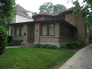 George Furbeck House - Image: Oak Park Il G Furbeck House 3