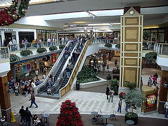 Oak Park Mall - Oak Park Mall, during the holiday season.
