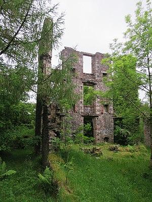 Oban Hydro - Oban Hydro ruins, 2015
