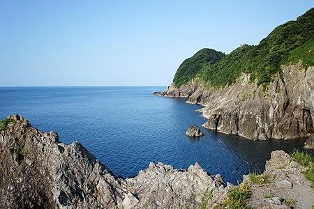 Obiki-no-hana of Kasumi Coast