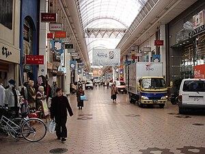Kōchi, Kōchi - Obiyamachi in downtown Kōchi