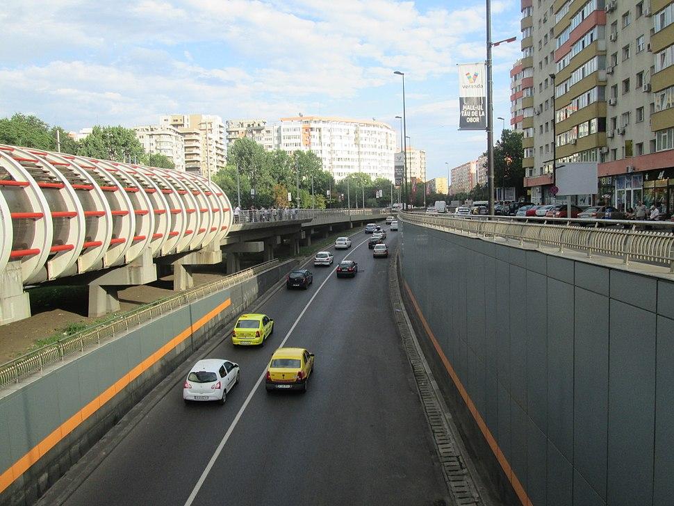 Obor Underpass in Bucharest