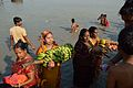 Offering to Sun God - Chhath Puja Ceremony - Baja Kadamtala Ghat - Kolkata 2013-11-09 4262.JPG