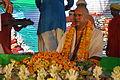 Offerings with Ravi Shankar Sharma - Rawatpura Sarkar Ashram - Chitrakoot - Satna 2014-07-05 6123.JPG
