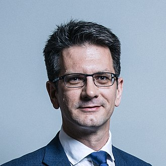 Department for Exiting the European Union - Image: Official portrait of Mr Steve Baker crop 3