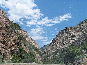 Ogden Canyon Utah