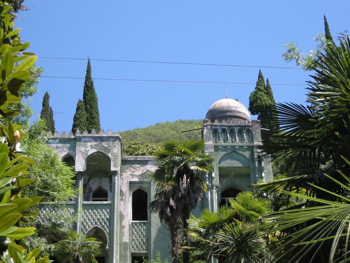 Abkhazia, Gagra. Sights and entertainment 64
