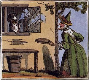 Old Mother Hubbard - 1819 United Kingdom depiction