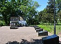Oleshky (Tsuriupynsk)-2017 Central Park Brothery Graves and Monument of WW2 Warriors 01 (YDS 0387).jpg