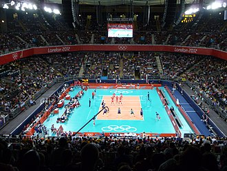 Earl's Court - Earls Court Exhibition Centre hosted volleyball events in the 2012 Summer Olympics