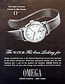 "Omega Watch Ad, ""The Most Accurate Watch in the World"", Life Magazine, December 14, 1942 (9000242592).jpg"