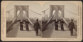 On the Promenade, Brooklyn Bridge, New York, U.S.A, from Robert N. Dennis collection of stereoscopic views.png