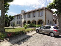 Onesse-et-Laharie (Landes) mairie.JPG