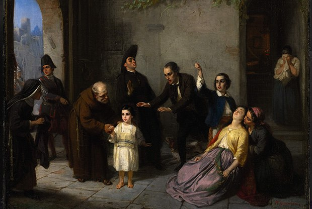 Oppenheim - Kidnapping of Edgardo Mortara - 1862