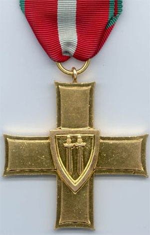 Grunwald Swords - 1st class Order of the Cross of Grunwald