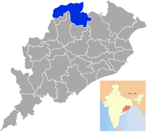 Sundergarh district - Image: Orissa Sundargarh