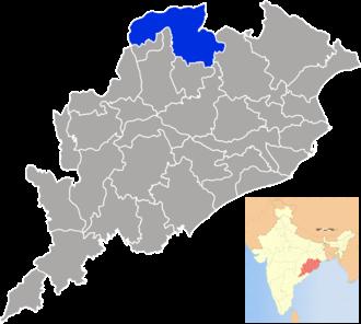 Sundergarh district - Image: Orissa Sundargarh