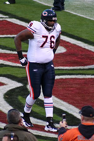 Orlando Pace - Orlando Pace with the Bears in 2009.