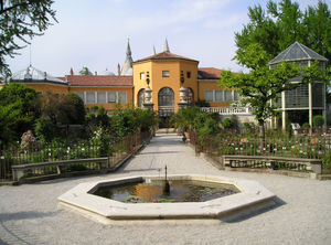 Orto botanico di Padova - The entrance