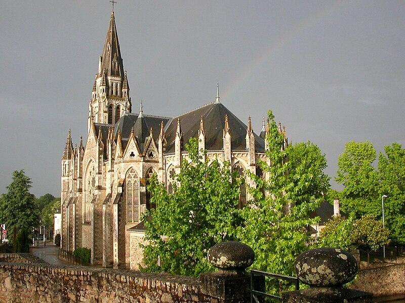 Saint-Léger's church in Orvault