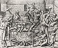 Os Filhos de Pindorama. Cannibalism in Brazil in 1557.jpg