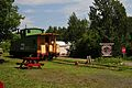 Osceola and St. Croix Valley Railway - Burlington Northern caboose.jpg