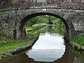 Oscote Barn Bridge near Church Eaton, Staffordshire - geograph.org.uk - 1384960.jpg