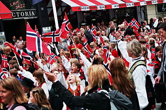 Norwegians - Norwegian Constitution Day, May 17.