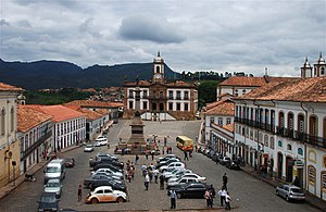 Ouro Preto - Museum of Betraval and Tiradentes Square