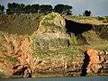 Outcrop at Durl Head, Brixham.jpg