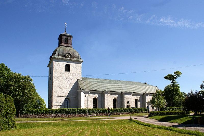 Ovansjö kyrka. Foto: Jan Ainali. Licens: CC-BY-SA-3.0