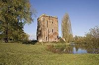 Overzicht van de ruïne van kasteel De Nijenbeek - Voorst - 20420216 - RCE.jpg