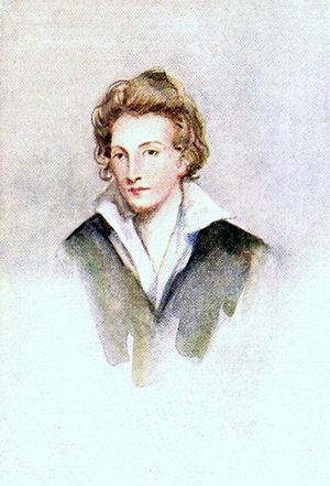 Percy Bysshe Shelley fled Tremadog after an al...