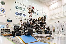 Picture of the Perseverance Rover at JPL